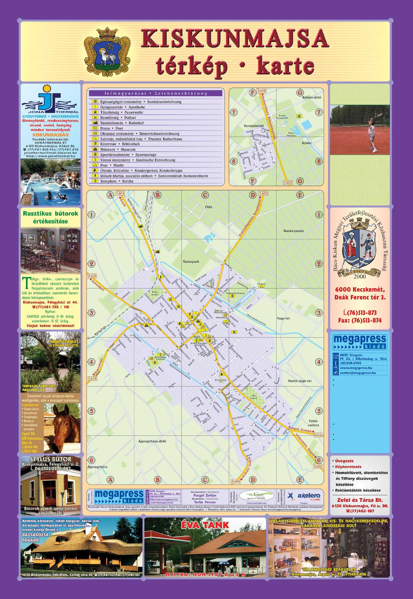 21-KiskunmajsaTerkepHajtogatott-2003-1.oldal